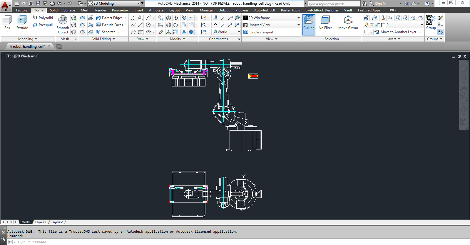 autocad mechcanical