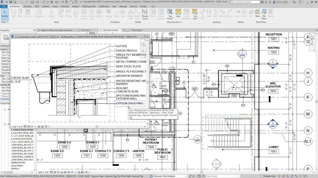 Design Consulting Revit annotations
