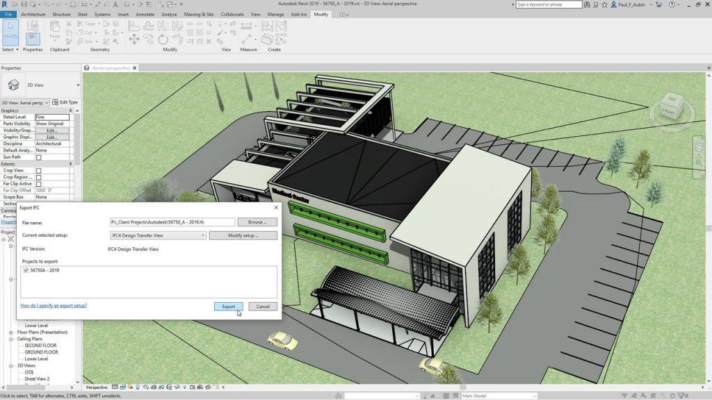 Design Consulting Revit interoperability