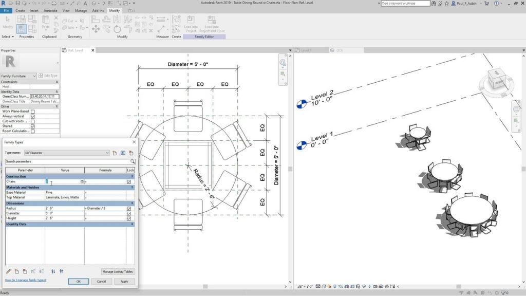 Design Consulting Revit parametric