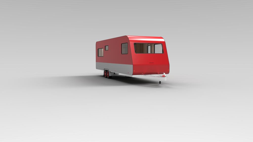 Red Caravan Exterior 16