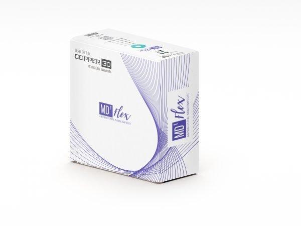 Copper3D MDFlex Antibacterial Filament 1.75mm Black
