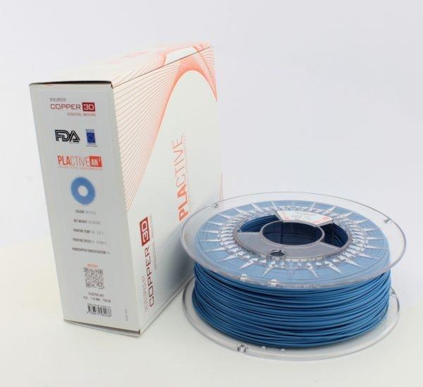 Copper3D PLActive Antibacterial Filament 1.75mm Sky Blue