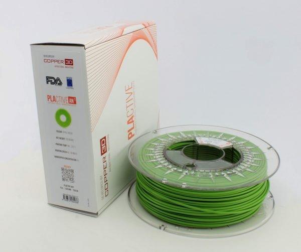Copper3D PLActive Antibacterial Filament 2.85mm Green