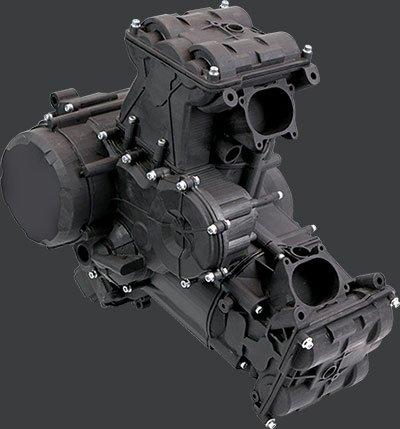 Motorbike Engine Side