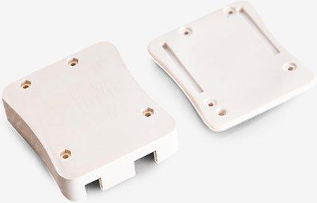 Precision White Hard Connector 1