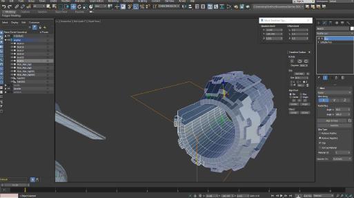 3ds Max 2022 Slice Modifier