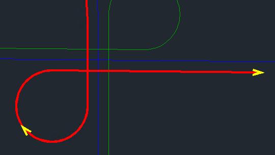 Civil 3D 2022 Connected alignment preview option