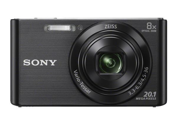 Sony Cybershot W830 20.1MP 8x Black