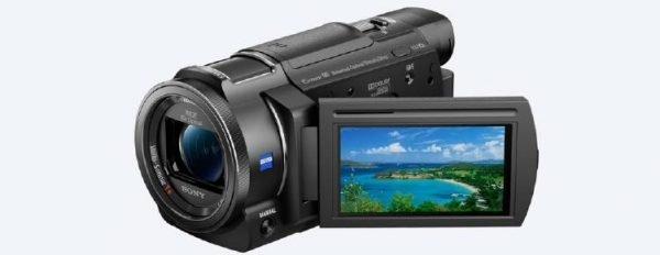 Sony FDR-AX33 4K Handcam with Exmor R