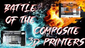 3D printer review battle of the composite 3D printers Anisoprint Markforged continuous carbon fiber