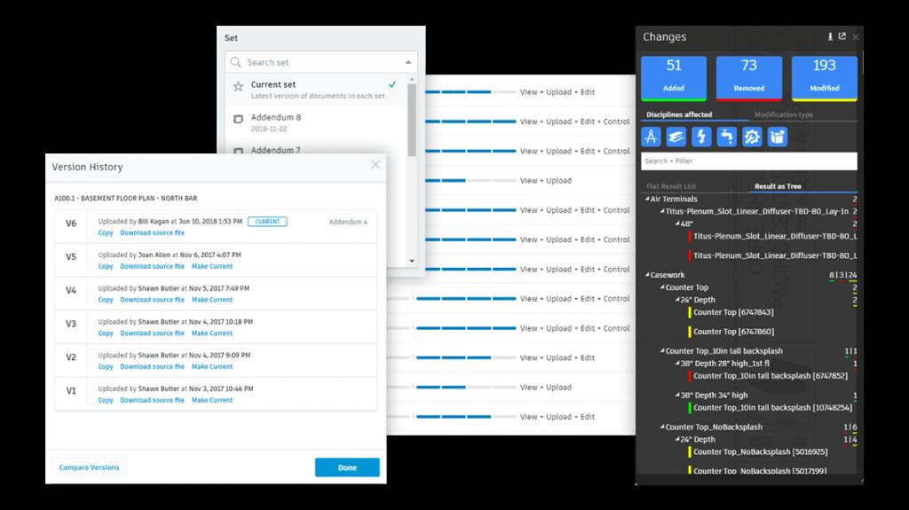 Autodesk BIM 360 Docs Product Flat Workflow Document Distribution Flat