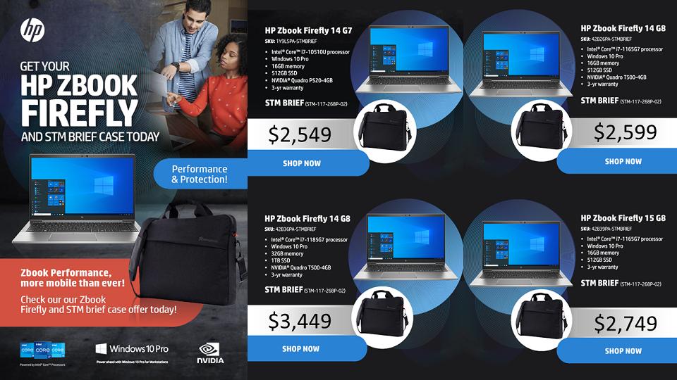 HP Firefly Zbook promo