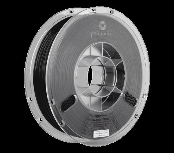PolyMaxPETG 750g Black Spool 175mm Main